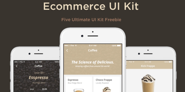 Kit De Interfaz De Usuario De Ecommerce En Sketch