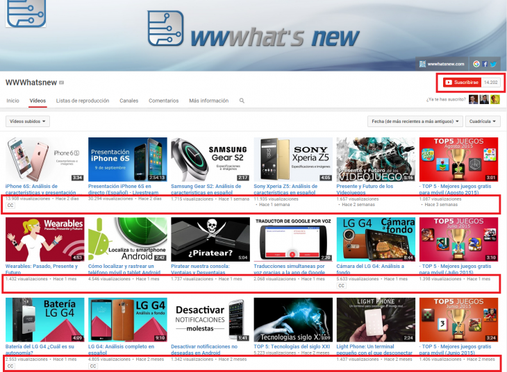 wwwhatsnew Youtube