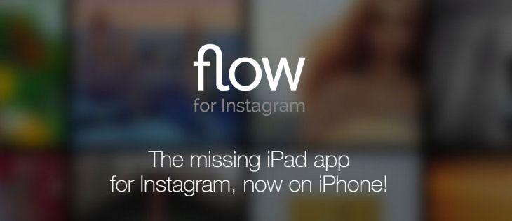 Flow para Instagram llega también a dispositivos iPhone en su nueva versión