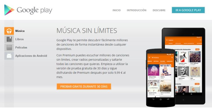 Google presentará mañana su plan familiar para Google Play Music