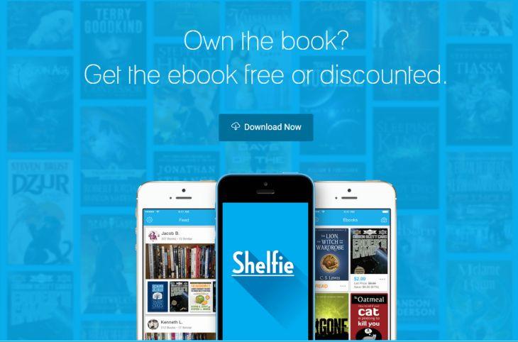Shelfie, para disponer de las versiones digitales de los libros físicos en propiedad