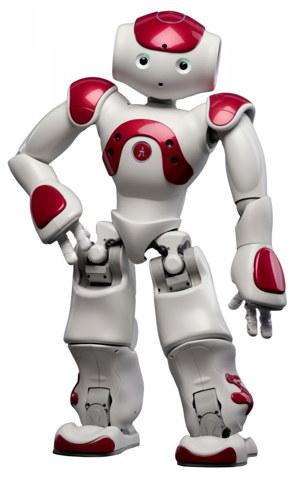 Aldebaran NAO, un robot humanoide usado por Watson