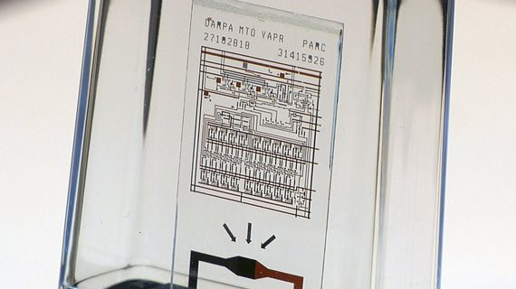 Chip fabricado por Xerox PARC