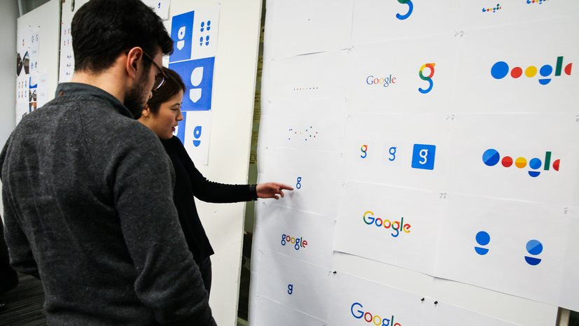 Google Design explica con detalle el nuevo logo, y muestra otras alternativas