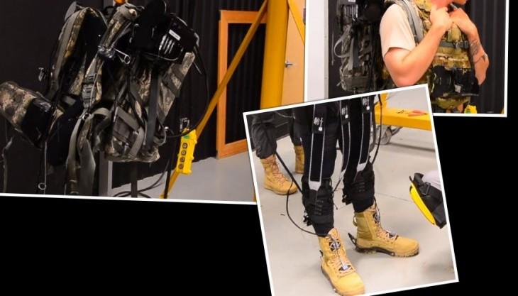 Montaje con imágenes de DARPA