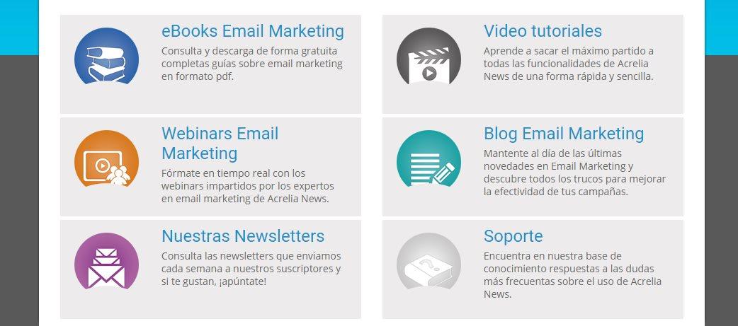 Guías, ebooks, vídeos y webinars sobre Email Marketing
