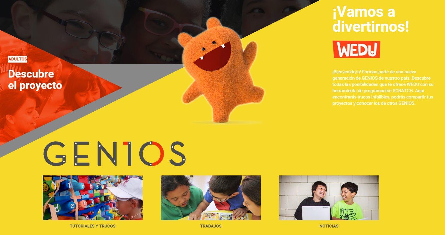 GENIOS, el programa de Google para enseñar programación a niños y niñas españoles
