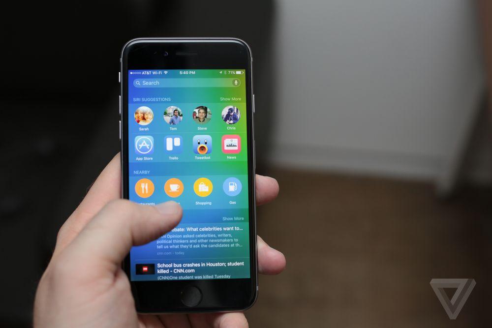 Las novedades presentes en iOS 9