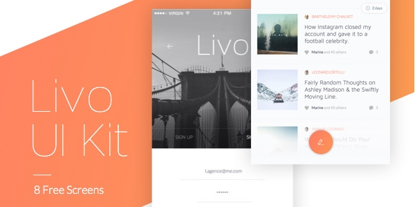 Livo: Un Kit De Interfaz De Usuario Elegantes Para iPhone