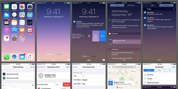 Oz Pinhas: Una Gran Colección De Interfaces Para iPhone
