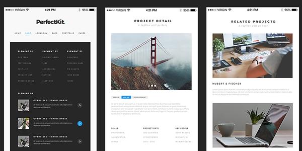 PerfectKit: Una Set De Interfaz De Usuario Limpias Y Minimalisticas Para iOS