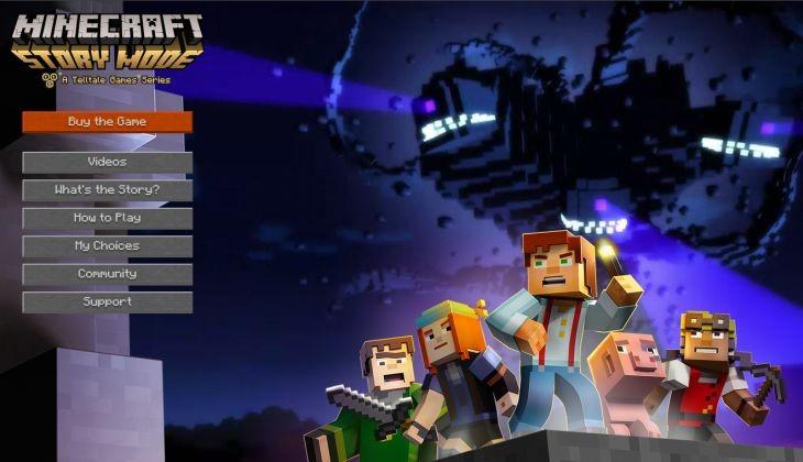 Minecraft-StoryMode