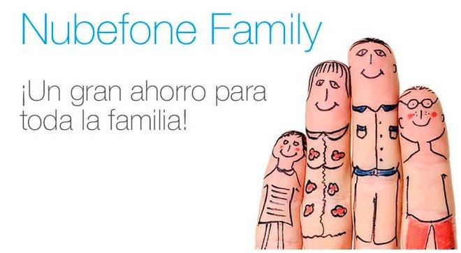 Nubefone Family, para llamadas internacionales baratas entre miembros de una familia