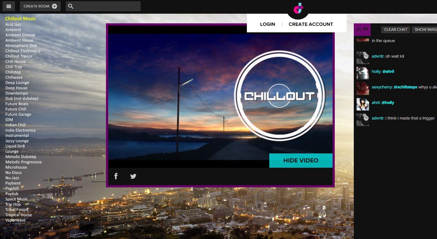 dubtrack, un clon del fallecido Turntable, para crear salas de música en Internet