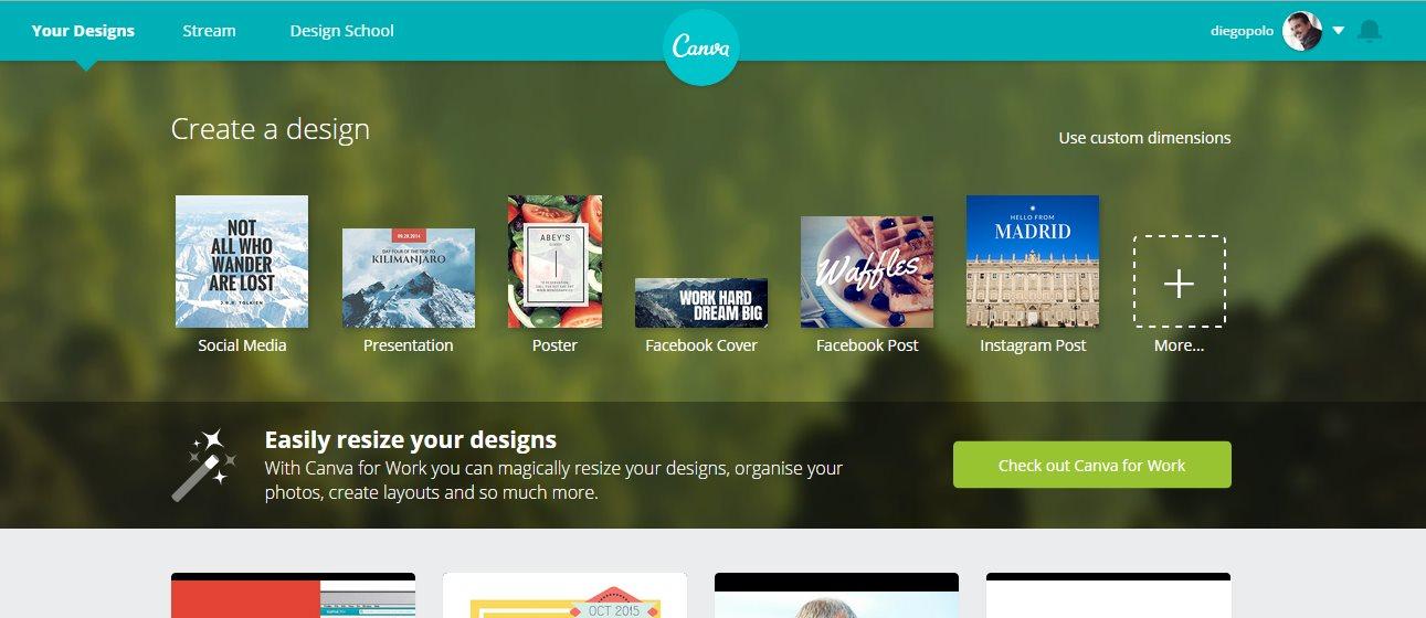 Canva, la herramienta para hacer banners, recibe 15 millones de dólares de inversión