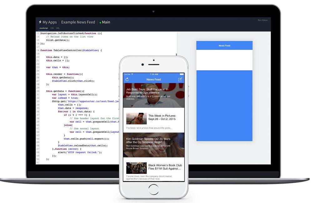 AppStarter, para crear y ejecutar prototipos de aplicaciones para iOS