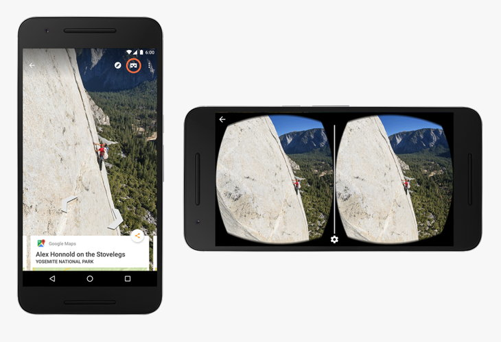 google cardboard street view