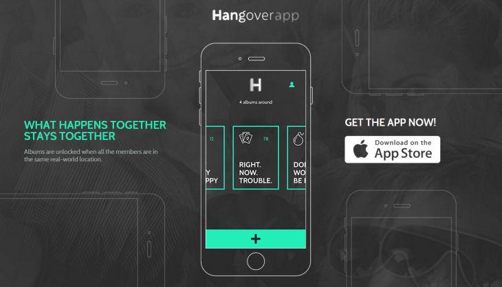 HangoverApp, comparte fotos y vídeos de manera privada y sin necesidad de Internet [iOS]