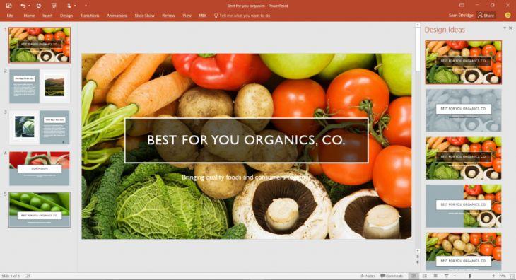 Microsoft presenta Designer y Morph, dos herramientas premium para PowerPoint