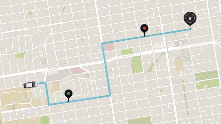 Los conductores de Uber ya pueden recoger a los pasajeros que vayan en la misma dirección