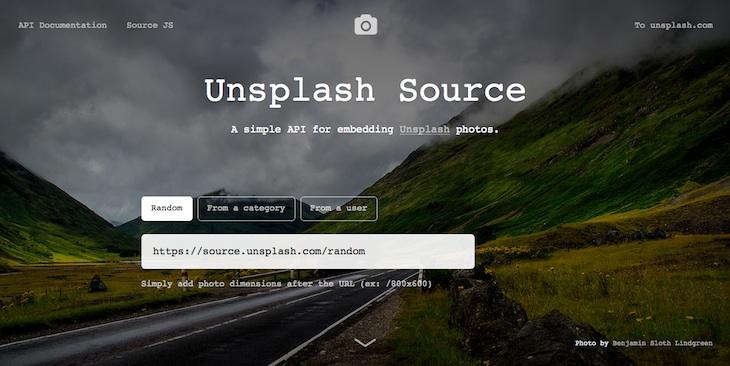 La API de Unsplash permite a los desarrolladores utilizar hasta 30.000 imágenes en sus apps
