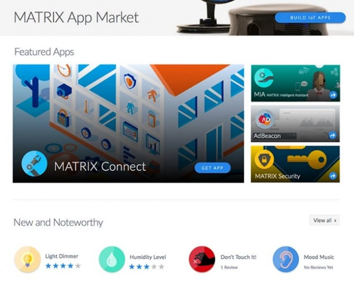 market de apps de MATRIX