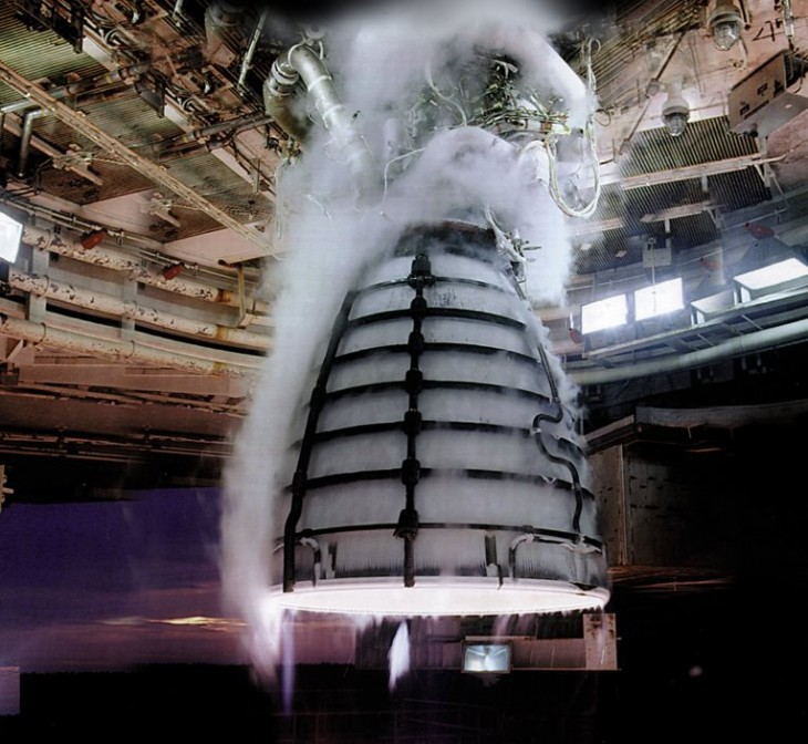 Motor Rs-25, de Aerojet Rocketdyne
