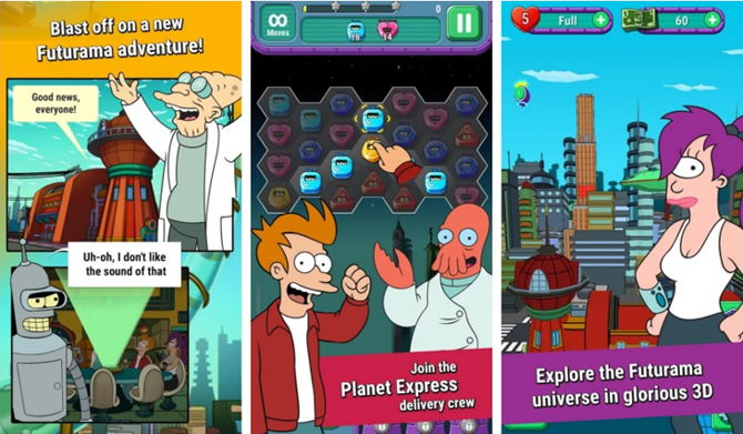 game of drones futurama