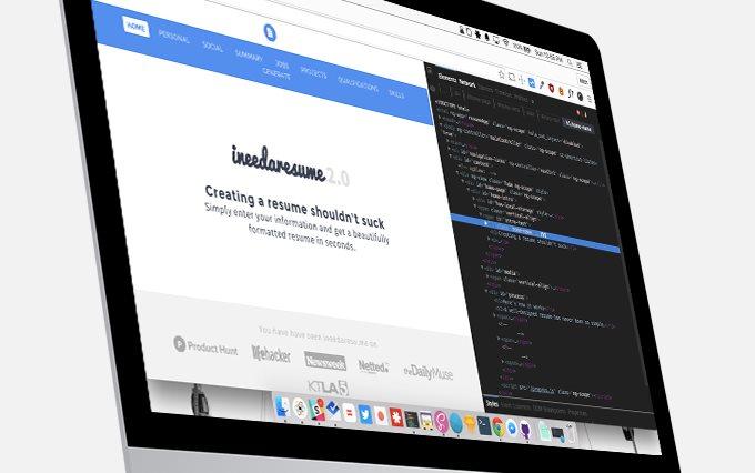 ineedaresu, nueva solución para crear CV por Internet