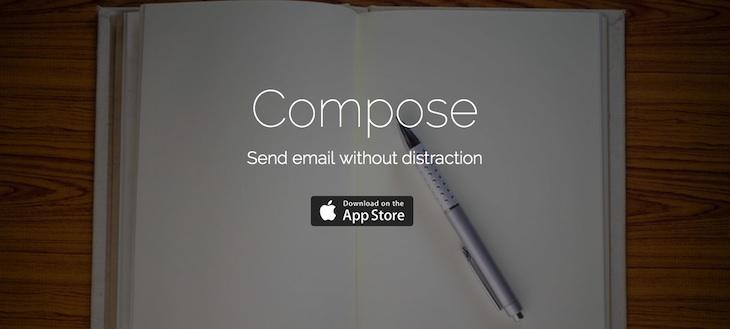 Compose, app para enviar correos electrónicos sin distracciones