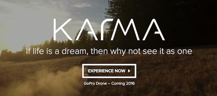 El dron de GoPro se llamará Karma y llegará en 2016
