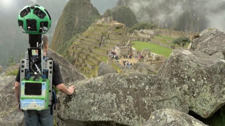 Google Machu Picchu