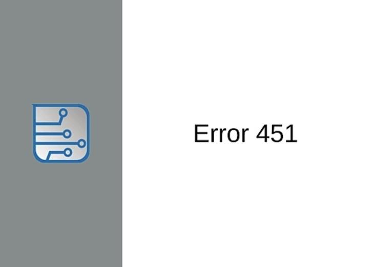 El nuevo código de estado 451 se usará cuando una página web haya sido retirada por motivos legales
