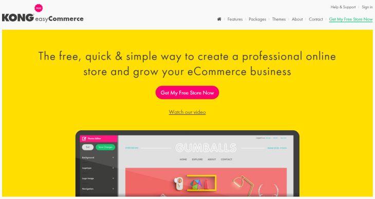 Kong, nueva plataforma para generar espacios de comercio electrónico, y sin complicaciones
