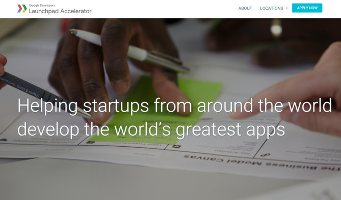 aceleradora startups google
