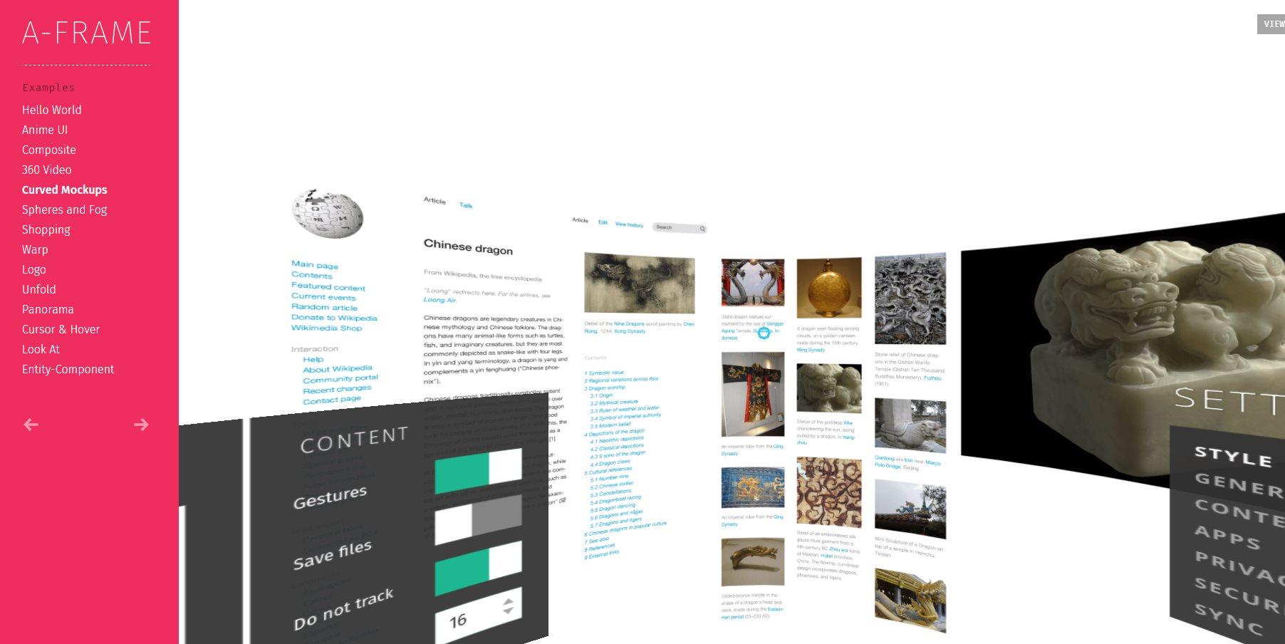 A-Frame, para crear aplicaciones de Realidad Virtual