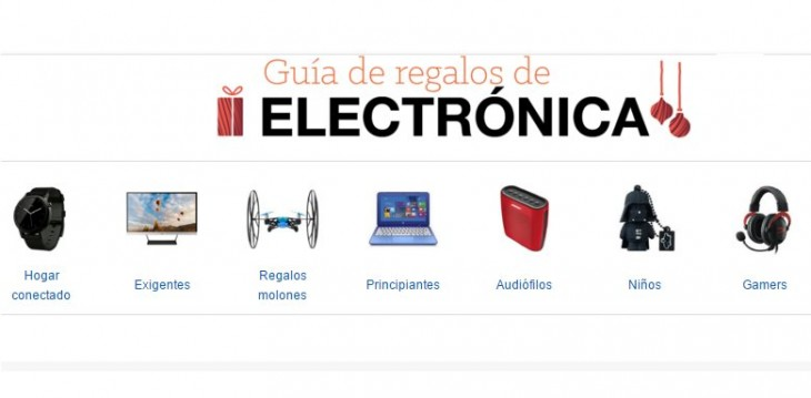 Guí­a de regalos de Amazon