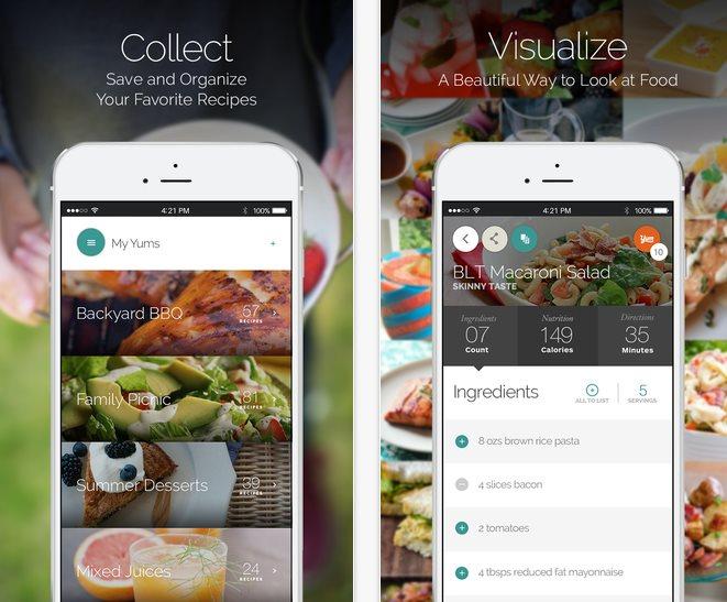 Las mejores apps para comer bien y de forma saludable