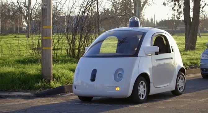 coche autonomo google