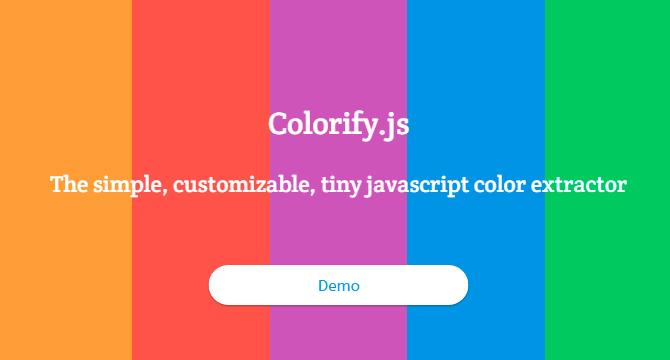 Colorify.js: Detector De Colores En Imagenes
