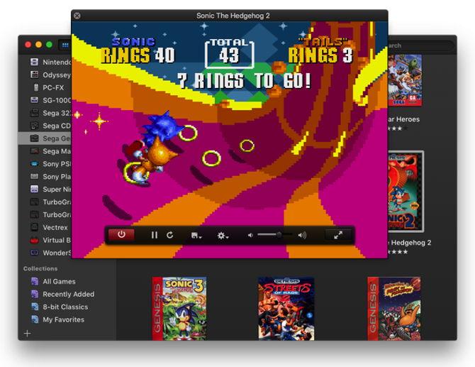emulador juegos mac