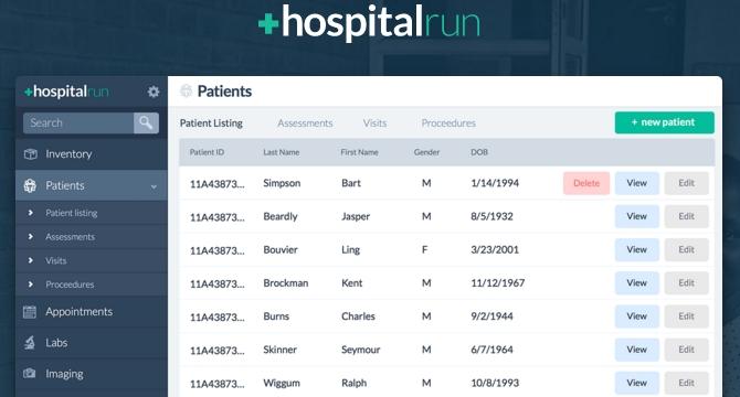 HospitalRun: Proyecto OpenSource Para Desarrollo De Hospitales