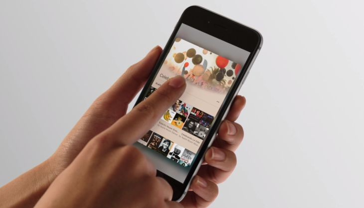 Imagen: vídeo promocional de Apple