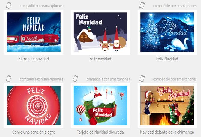 5 Sitios Web Para Crear Tarjetas De Navidad Y Enviarlas Online - Postales-para-navidad-personalizadas