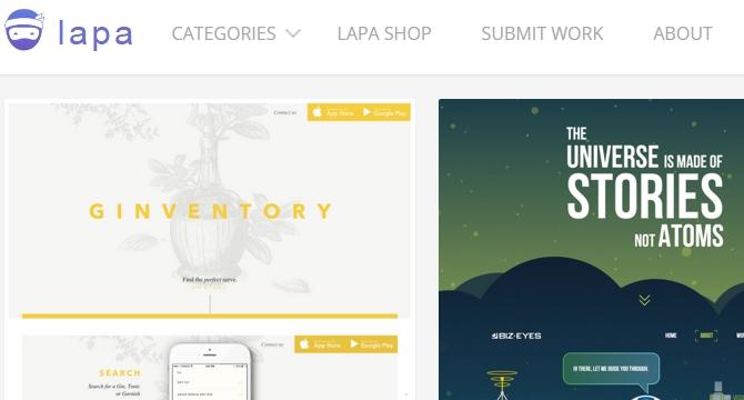 Lapa: Coleccion De Landing Pages Para Inspiracion