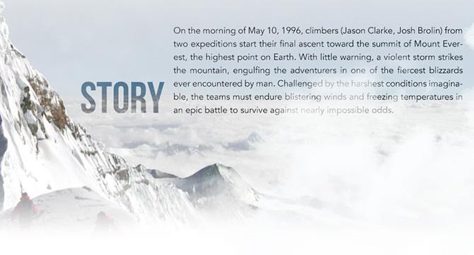 Plantilla Web En PSD Inspirada En Everest