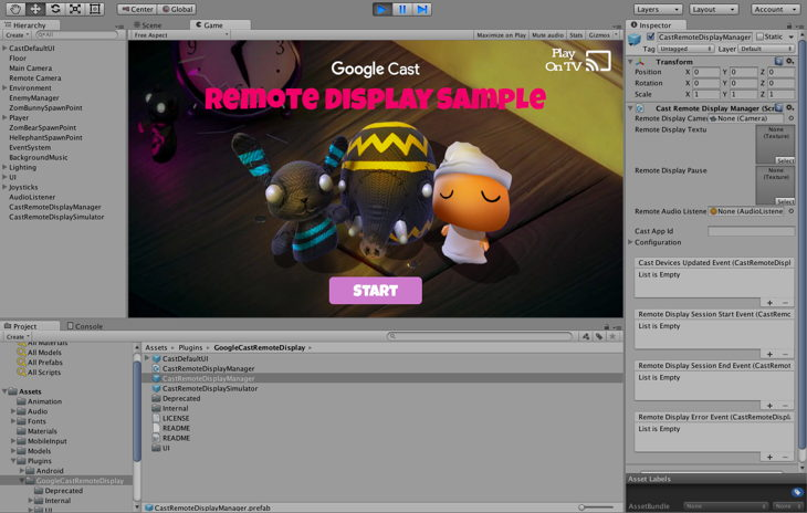 plugin unity cast remote