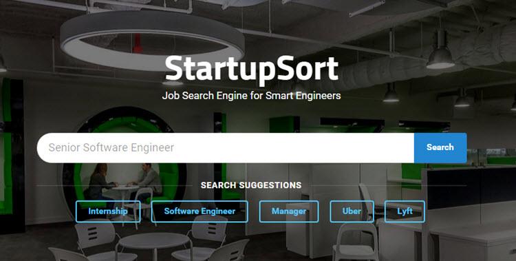 StartupSort, muestra las ofertas de trabajo de las startups con mayor potencial