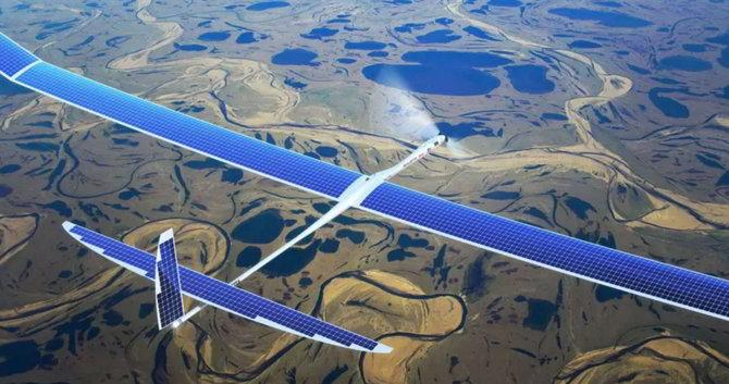 Drones de Google Titan