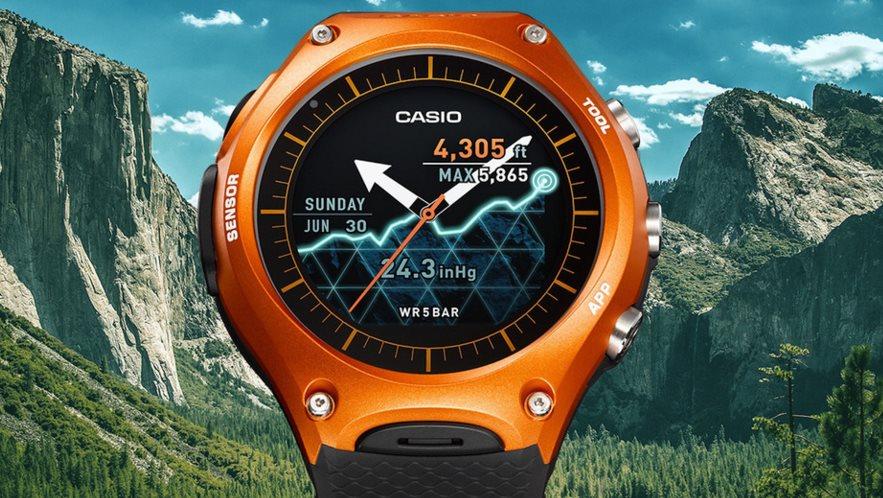 Casio presenta el reloj WSD-F10, con Android Wear
